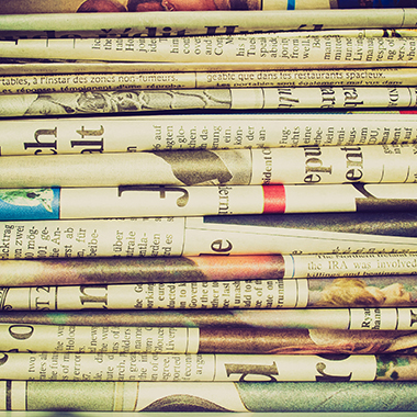 International Newspapers Stack