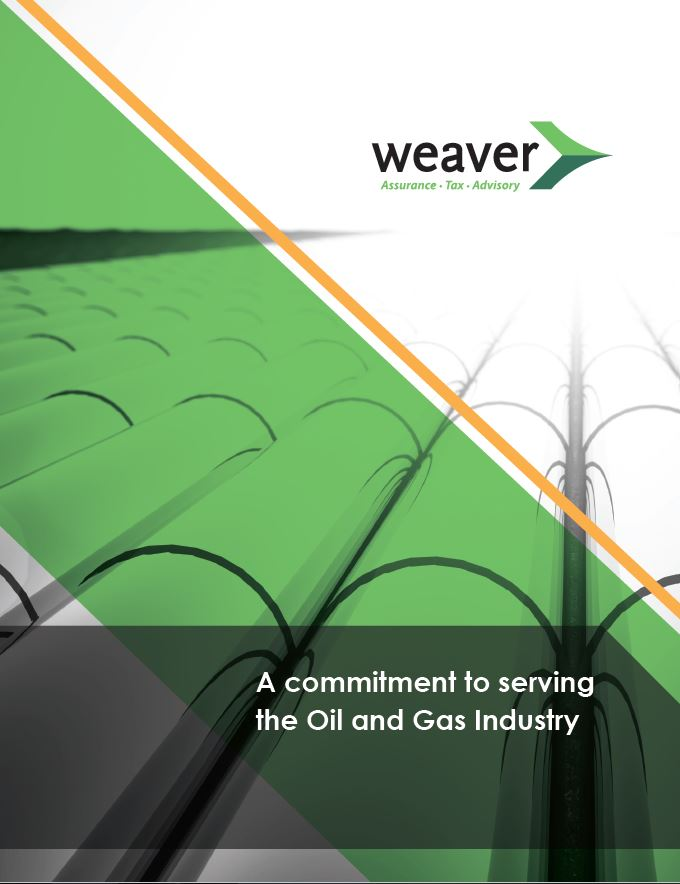 Oil and Gas Brochure Cover