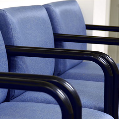 Waiting room chair