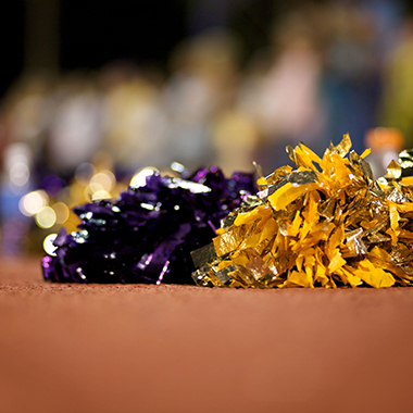 Cheerleaders' Pom Poms