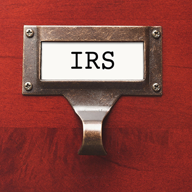 IRS Wooden Cabinet