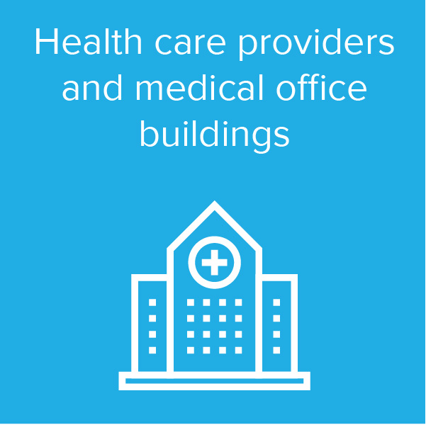 Health care providers and medical office buildings