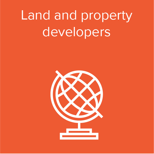 Land and property developers
