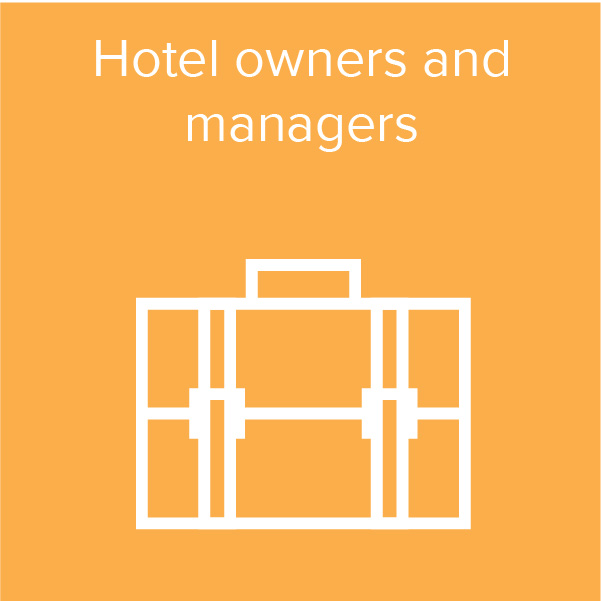 Hotel owners and managers