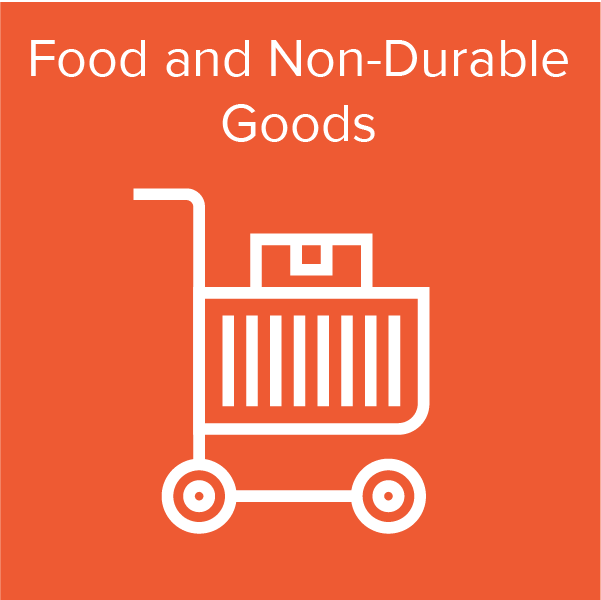 Distribution Services - Food and Non-Durable Goods Icon