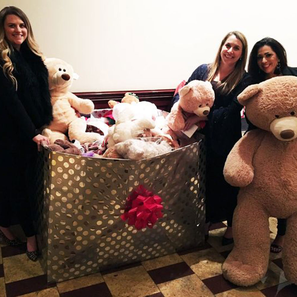 NTX Holiday Party Bear Drive for Local Children's Hospital