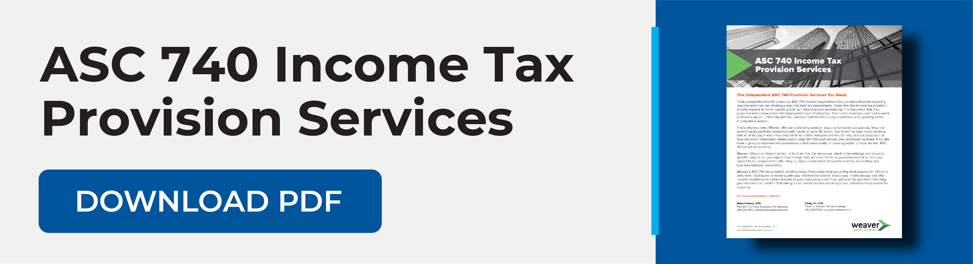 ASC 740 Income Tax Preparation Download